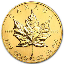 1997 Canada 1 oz Gold Maple Leaf BU - SKU #77412