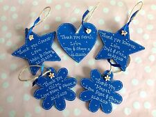 Personalised Wedding Bridesmaid Page Boy Favour Keepsake Wooden Gift Tag Present