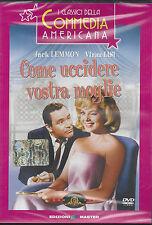 Dvd **COME UCCIDERE VOSTRA MOGLIE** con Jack Lemmon Virna Lisi nuovo 1965