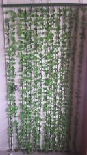 Bamboo leaves Door Curtains Wall Hanging Drapes Room Divider Restaurant Kitchen