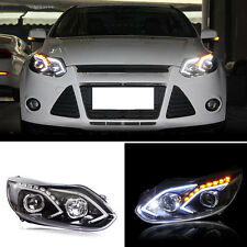 Newest Style For Ford Focus 12-14 Front LED Headlight DRL+Xenon HID Assembly OEM