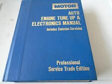 MOTOR DOMESTIC AUTO ENGINE TUNE UP AND ELECTRONICS MANUAL 1982-87