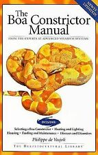 The Boa Constrictor Manual by Roger Klingenberg, Philippe de Vosjoli and Jeff...