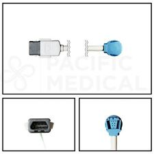 GE Datex-Ohmeda OXY-MC3 SpO2 8' Extension Adapter Cable TruSat MC to OxyTip New