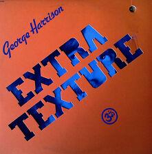 GEORGE HARRISON - EXTRA TEXTURE - DIE-CUT CVR + ORIGINAL INNER SLEEVE - APPLE LP