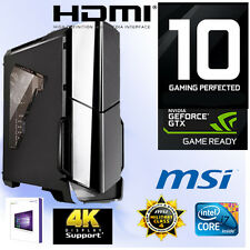 Gamer PC Intel I7 6700K 4x4,20Ghz-32GB-Nvidia GTX1080 GamingX 8G-Win10-M.2 SSD-M