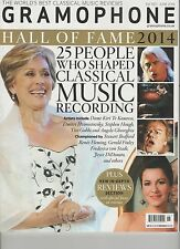 GRAMOPHONE MAGAZINE UK JUNE 2014, 25 PEOPLE WHO SHAPED CLASSICAL MUSIC RECORDING