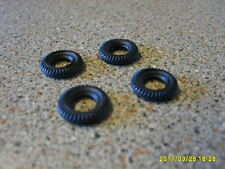 CORGI  MINI  AND OTHERS  X4  TYRES  12MM  NEW REPLACEMENTS