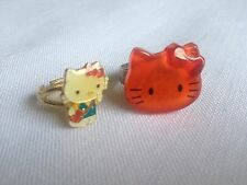 Very Rare! Japan HELLO KITTY Rings, Sticker, Photo Album. Original 90's Vintage!