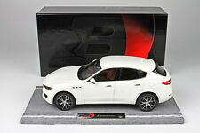 BBR 2016 Maserati Levante White 86th Geneve Auto Show 1/18  LE of 199 BBRC1809A