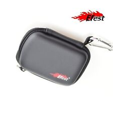 eFest 18650/  26650 Battery Case, Zipper Closure, Hook and Interior Strap * New!