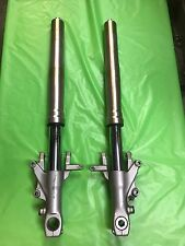 97 98 99 00 01 02 03 Kawasaki ZX7 ZX7R Left Right Front Fork Suspension #0125