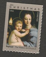 US 4570 Christmas Madonna of the Candelabra forever single MNH 2011