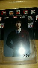 Shinee Minho your number japan jp official photocard Kpop k-pop
