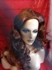 HALLOWEEN SPECIALS VEGAS GIRL WIGS PICK YOUR COLOR UPDO FRENCH TWIST SHOW CURLS