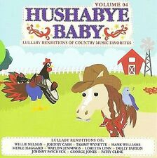 FREE US SH (int'l sh=$0-$3) NEW CD Hushabye Baby: Lullaby Country Music 4