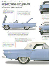 1957 Ford Thunderbird Article - Must See !!