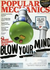 Popular Mechanics Magazine November 2015 Superfast 3D Printing / Robotic Hand