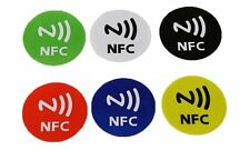6pcs. NFC Tags Stickers Adhesive Label for all Smartphones with NFC Galaxy S7 S6