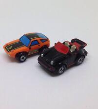 Vintage Galoob Micro Máquinas coches Porsche 928/Ragtop JOBLOT 90s/80s