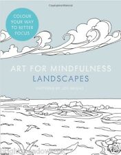 Art for Mindfulness Adult Colouring Book Creative Therapy Relaxing Gift Nature