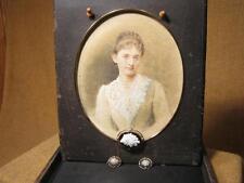 ███►altes Schmuckset :Brosche & Ohrringe  aus Nachlaß einer Gräfin