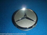 Mercedes Benz Genuine Satz 4 Radnabenkappen 75mm Titansilber Neu OVP