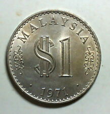 Rm 1 Malaysia 1971 (Royal mint UK) EF+  # 264