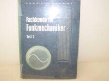Formación profesional para Mecánica de la radio Lakendra,Horst y Günter Hermosa