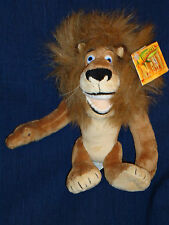 "MADAGASCAR LION ""ALEX"" 9"" Disney Plush w/Tag"