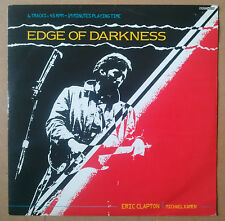 "Eric Clapton with Michael Kamen  Edge Of Darkness Maxisingle 12"" UK 1985"