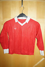 ERIMA Sportshirt Trikot vintage 70/80iger rot made Germany XS D1-2  32