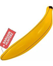 Inflatable Blow Up Banana 80cm Tropical Fruit Kidz Toy Party Fancy Dress Fun UK