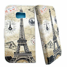 Cell Phone Flip Leather Slot Card Wallet Cover Case For Samsung Galaxy S6 Edge