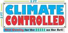Full Color CLIMATE CONTROLLED Banner Sign All Weather NEW Larger Size Storage