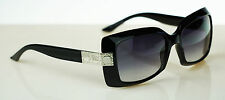 RARE NEW Genuine Christian DIOR 61/2 Shiny Black Grey Gradient Sunglasses D281B