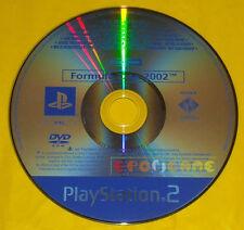 FORMULA ONE 2002 Ps2 Versione Promo Europea gioco completo F1 F 1 »»» SOLO DISCO