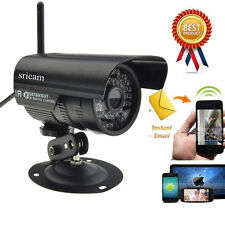 WiFi Outdoor Waterproof Wireless Night 20M IR CCTV Security Network IP Camera SL