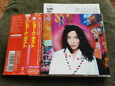 Bjork - Post +1 BONUS TRACK JAPAN CD OBI 1995 POCP-7040