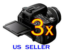 3x Clear LCD Screen Protector Guard Cover For Sony Alpha DSLR-A560 A580 Camera