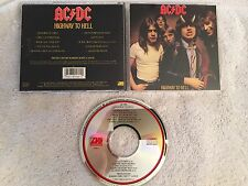 AC/DC HIGHWAY TO HELL ORIGINAL US CD (ATLANTIC 19244-2) RARE OOP