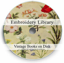 Rare Books Embroidery Crewel DVD Patterns Hand Design Needle Thread Yarn Kit 264