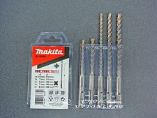 MAKITA B-16938 NEMESIS SDS PLUS HAMMER DRILL BIT SET OF 5 DRILL BITS