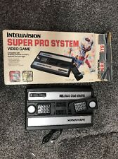 Intellivision Super Pro System Very Rare Consol Video Game In Box Model 3504