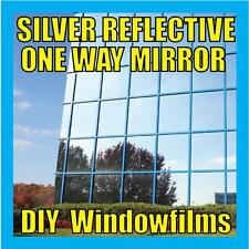 SILVER REFLECTIVE WINDOW FILM (One Way Mirror) - 50cm x 1m