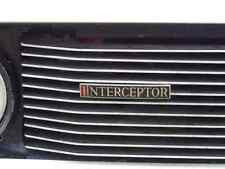 Jensen Interceptor Bonnet 2675 Grille Real Photo A4 Metal Sign Aluminium