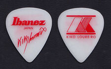 Megadeth Kiko Loureiro Signature White Guitar Pick - 2015 Tour