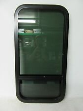 BLACK LCI 18 X 35 INSULATED RV SLIDER WINDOW CAMPER ENCLOSED CARGO TRAILER 18X35