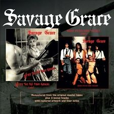 SAVAGE GRACE - After The Fall From Grace / Ride Into The Night CD
