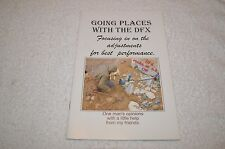 METAL DETECTOR BOOK ~ WHITE'S ~ GOING PLACES WITH THE DFX ~ NEW OLD STOCK